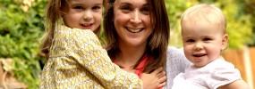 Nicola Watson of Child Sleep Solutions with Her Children